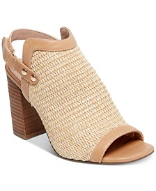 STEVEN by Steve Madden Women's Sweep Woven City Dress Sandals