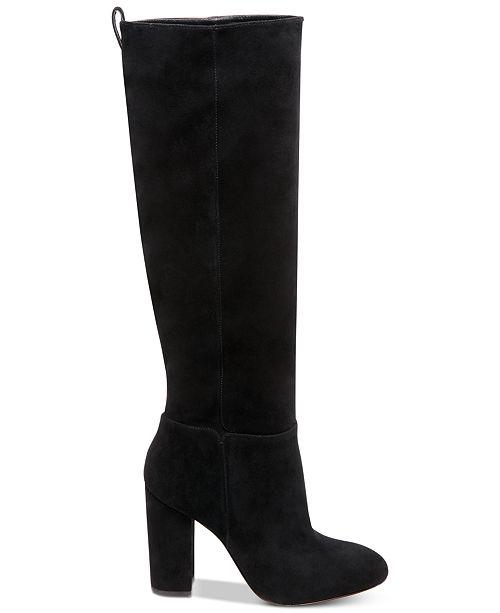 da4c26586a7 STEVEN by Steve Madden Women s Tila Dress Boots   Reviews - Boots ...