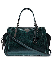 COACH Metallic Dreamer 21 Satchel