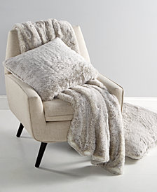 CLOSEOUT! Hotel Collection Faux-Fur Gift Collection, Created for Macy's