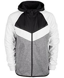 ID Ideology Men's Colorblocked Fleece Zip Hoodie, Created for Macy's