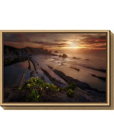 Amanti Art Sunset in Liencres by Ivan Ferrero Canvas Framed Art