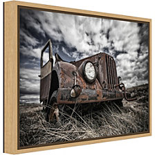 Amanti Art The Eye by Bragi Ingibergsson - Canvas Framed Art