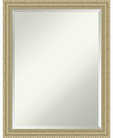 Amanti Art Teardrop 21x27 Bathroom Mirror