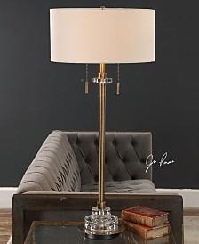 Uttermost Harlyn Antique Brass Lamp