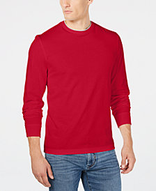 Club Room Men's Layered Crew Neck Long-Sleeve T-Shirt, Created for Macy's