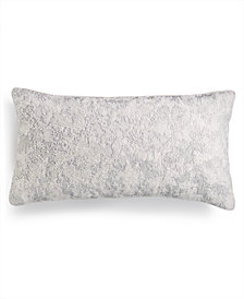 """Hotel Collection Lithos Beaded 12"""" x 22"""" Decorative Pillow, Created for Macy's"""