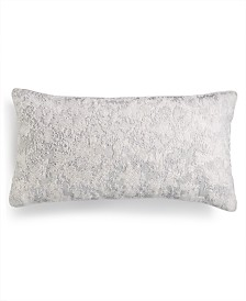 "Hotel Collection Lithos Beaded 12"" x 22"" Decorative Pillow, Created for Macy's"
