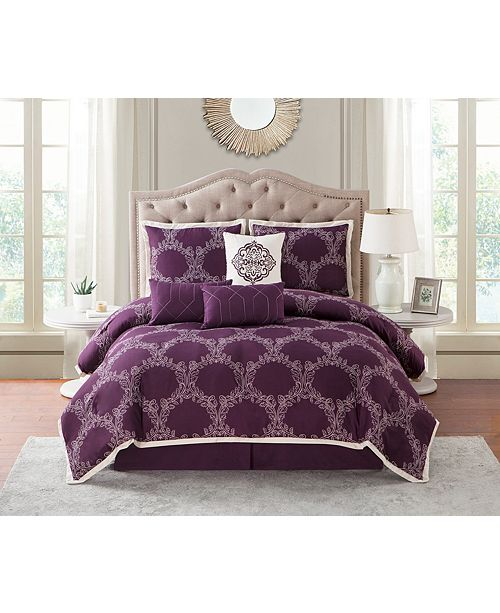 Nanshing Summerfield 7 PC Comforter Set, Queen