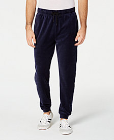 ID Ideology Men's Velour Joggers, Created for Macy's