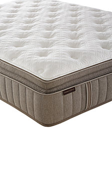 "Stearns & Foster Estate Palace 15.5"" Luxury Firm Euro Pillow top Mattress- California King"