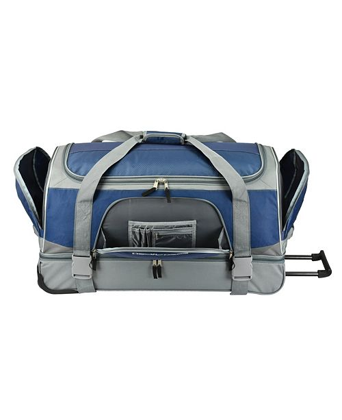 "Pacific Gear 30"" Drop-Bottom Rolling Duffel"