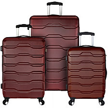 Travel Select Luggage Omni 3-Piece Hardside Spinner Luggage Set