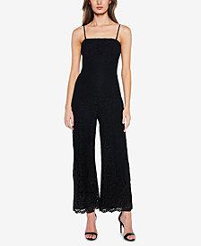Bardot Lace Wide-Leg Jumpsuit