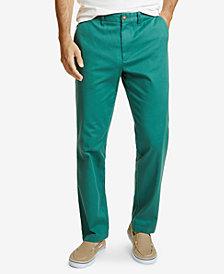Nautica Men's Classic Flat-Front Deck Pants
