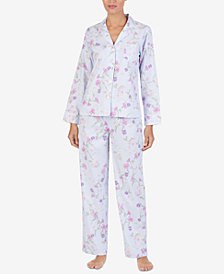 Lauren Ralph Lauren Cotton Printed Pajama Set