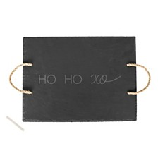 Cathys Concepts HO HO XO Slate Serving Tray