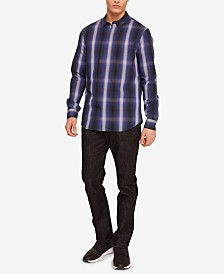 A|X Armani Exchange Men's Phillips Plaid Shirt