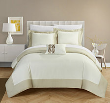 Chic Home Wynn 4-Pc. Duvet Cover Sets