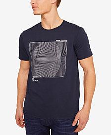 A X Armani Exchange Men's Spiral Graphic T-Shirt