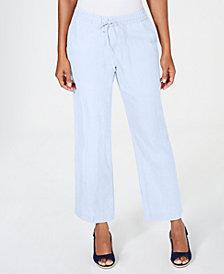 Charter Club Straight-Leg Pants, Created for Macy's
