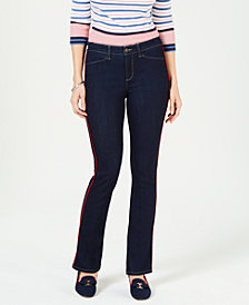 Charter Club Petite Straight-Leg Jeans, Created for Macy's
