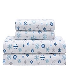 Microfiber Holiday Print Sheet Set