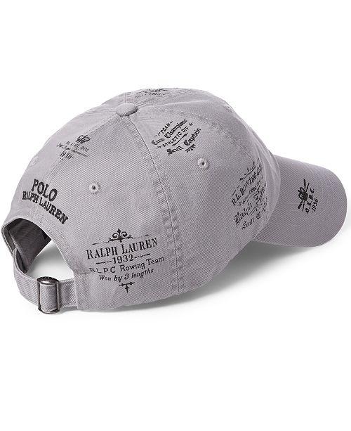 225b8e02a83de Polo Ralph Lauren Men s Bear   Crossbones Baseball Cap   Reviews ...