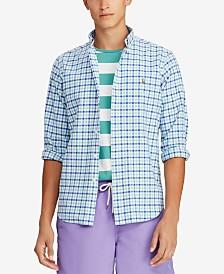 Polo Ralph Lauren Men's Big & Tall Classic Fit Cotton Gingham Shirt