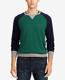 Polo Ralph Lauren Men's Big & Tall Colorblocked  Sweater
