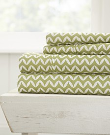 The Farmhouse Chic Premium Ultra Soft Pattern 3 Piece Sheet Set by Home Collection - Twin