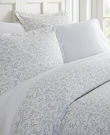 Tranquil Sleep Patterned Duvet Cover Set by The Home Collection, Twin/Twin XL