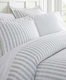 Tranquil Sleep Patterned Duvet Cover Set by The Home Collection, Queen/Full