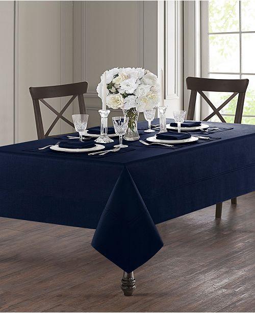 Waterford Corra Indigo Tablecloth Collection