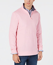Club Room Men's Regular-Fit Birdseye 1/4-Zip Sweatshirt, Created for Macy's