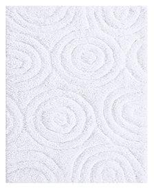 Circles 20x30 Cotton Bath Rug