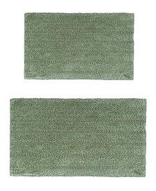 Linear 2 Pc Cotton Bath Rug Set