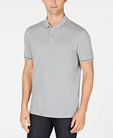 HUGO Men's Tipped Polo