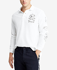 Polo Ralph Lauren Men's Big & Tall Classic Fit Long-Sleeve  Polo