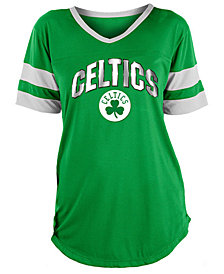 5th & Ocean Women's Boston Celtics Mesh T-Shirt