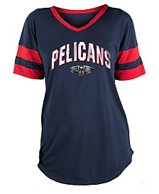 5th & Ocean Women's New Orleans Pelicans Mesh T-Shirt