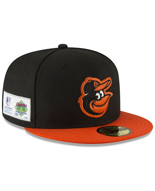 new style 0b3e1 ddaf3 ... New Era Baltimore Orioles Jersey Custom 59FIFTY Fitted Cap ...