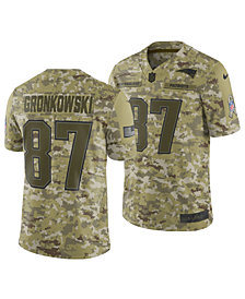 Nike Men's Rob Gronkowski New England Patriots Salute To Service Jersey 2018