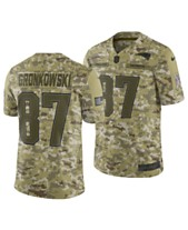 f0539e6ae75c4 Nike Men s Rob Gronkowski New England Patriots Salute To Service Jersey 2018