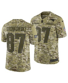 Nike Men's Rob Gronkowski New England Patriots Salute To Service Jersey 2018