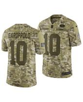 Nike Men s Jimmy Garoppolo San Francisco 49ers Salute To Service Jersey 2018 a0571cfa7