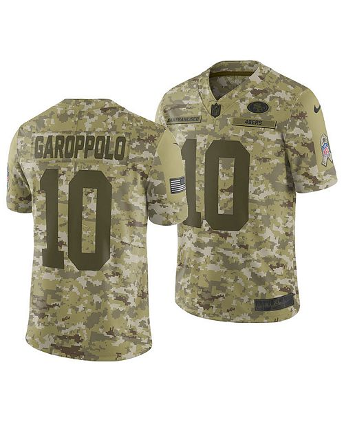 new arrival 3213a ba498 Nike Men's Jimmy Garoppolo San Francisco 49ers Salute To ...