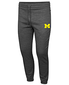 Colosseum Men's Michigan Wolverines Fleece Jogger Pants