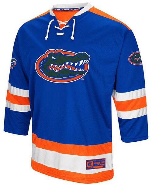 Colosseum Men s Florida Gators Fashion Hockey Jersey - Sports Fan ... ed44aea729e