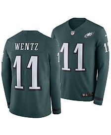 Nike Men's Carson Wentz Philadelphia Eagles Therma Jersey